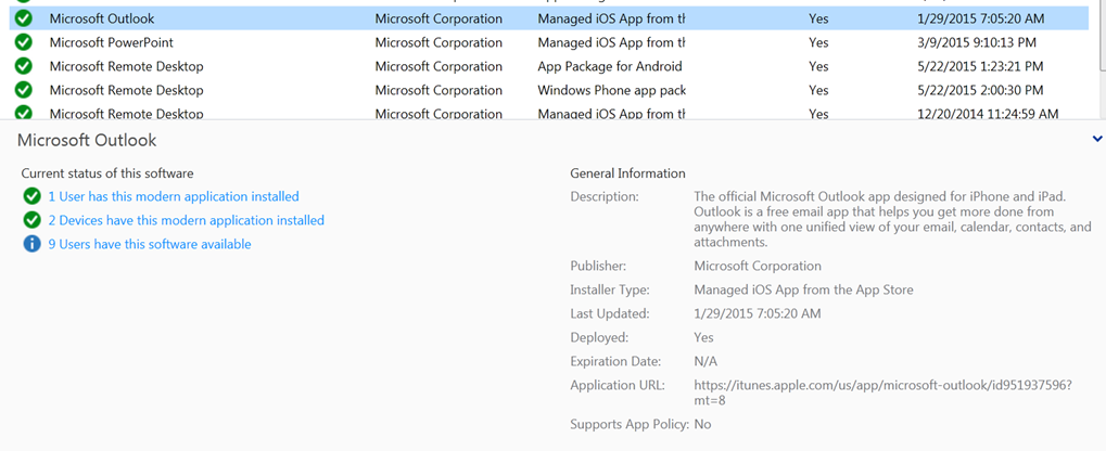Managed Outlook using Intune MAM Policy is here! - A Cloud