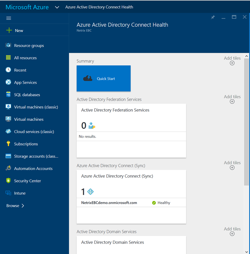 Azure AD Connect Health for Sync in Public Preview - A Cloud