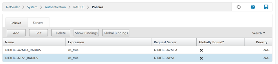 Integrating Citrix NetScaler with NPS Extension for Azure MFA - A